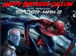 A4 Amazing Spiderman 2 Edible Icing or Wafer Paper Birthday Cake Top Topper